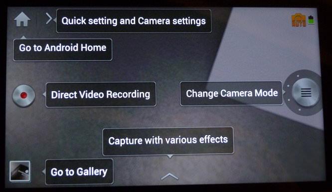 Samsung Galaxy Camera Hands On White - Start up help