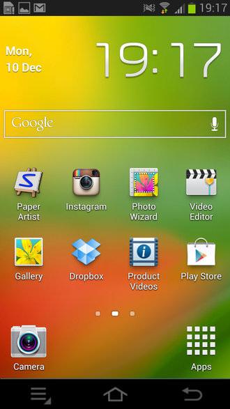 Samsung Galaxy Camera Screenshot 3
