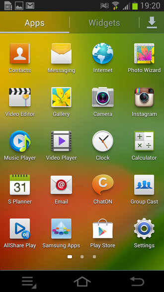 Samsung Galaxy Camera Screenshot 4