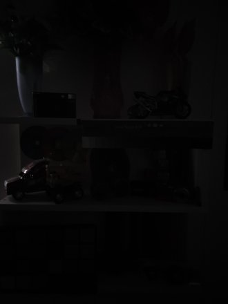 Completely Dark Photo Mode | f/1.5 | 4.3 mm | ISO 1250