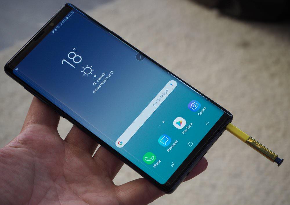 Samsung Galaxy Note9 Blue (5) (Custom)