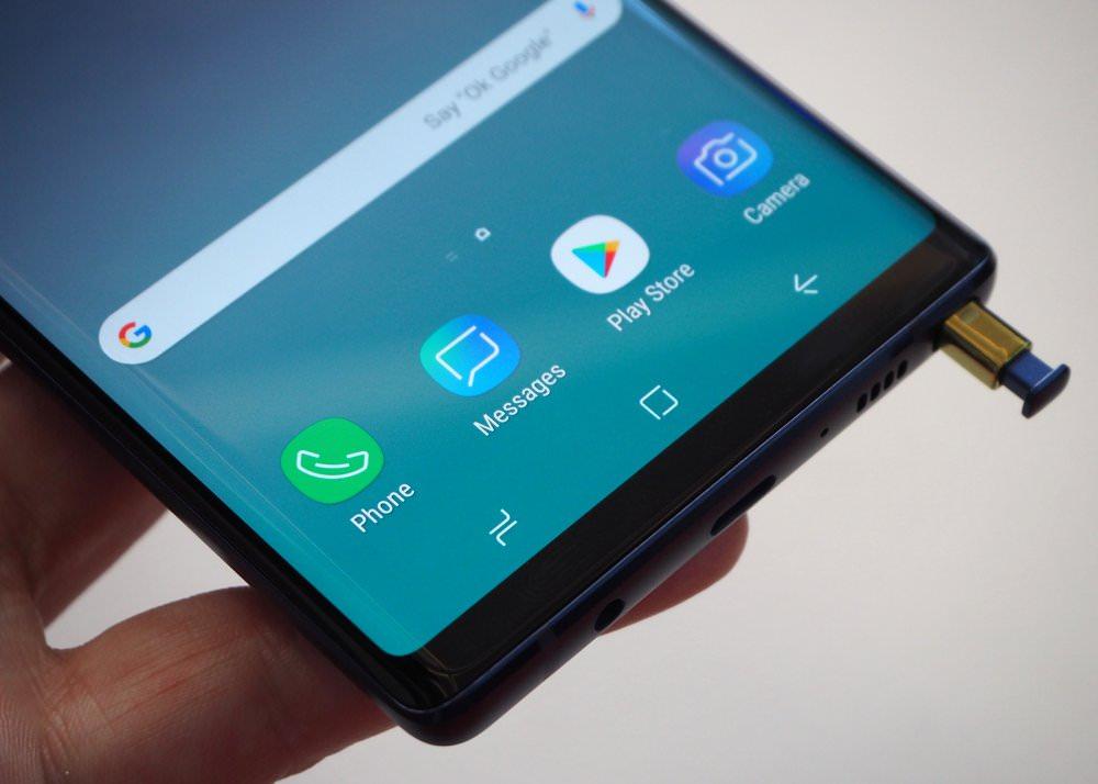 Samsung Galaxy Note9 Blue (6) (Custom)