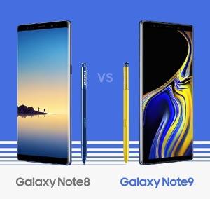 Samsung Galaxy Note9 Vs Samsung Galaxy Note8