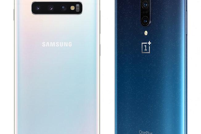 Samsung Galaxy S10 + Vs OnePlus 7 Pro