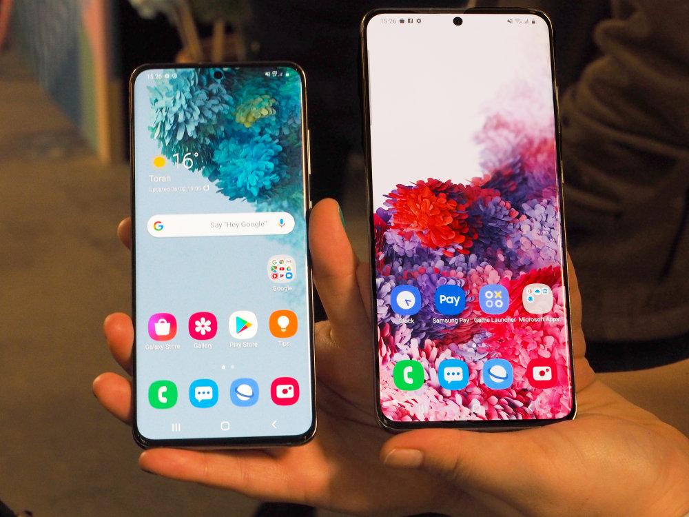 Samsung Galaxy S20 Ultra & Samsung Galaxy S20+