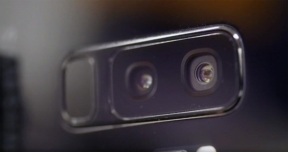Samsung Galaxy S9 Plus F1 5 Aperture