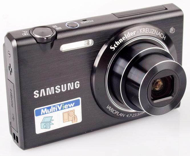 Samsung MultiView MV800 Lens Extended