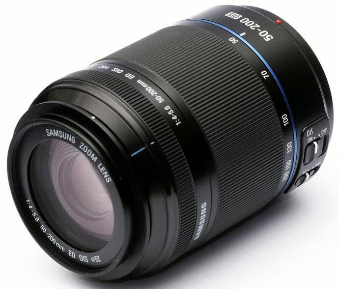 Samsung NX 50-200mm f/4.0-5.6 ED OIS II Lens
