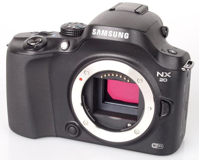 Samsung NX20 CSC Sensor
