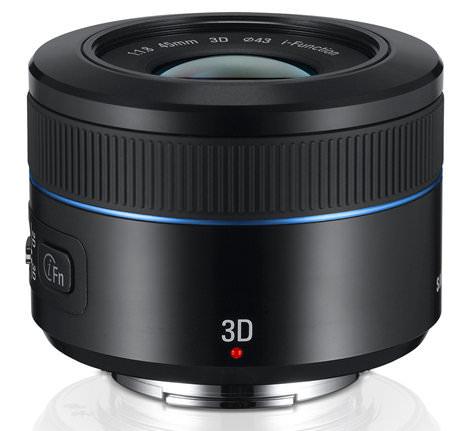 45mm 2D3D Lens