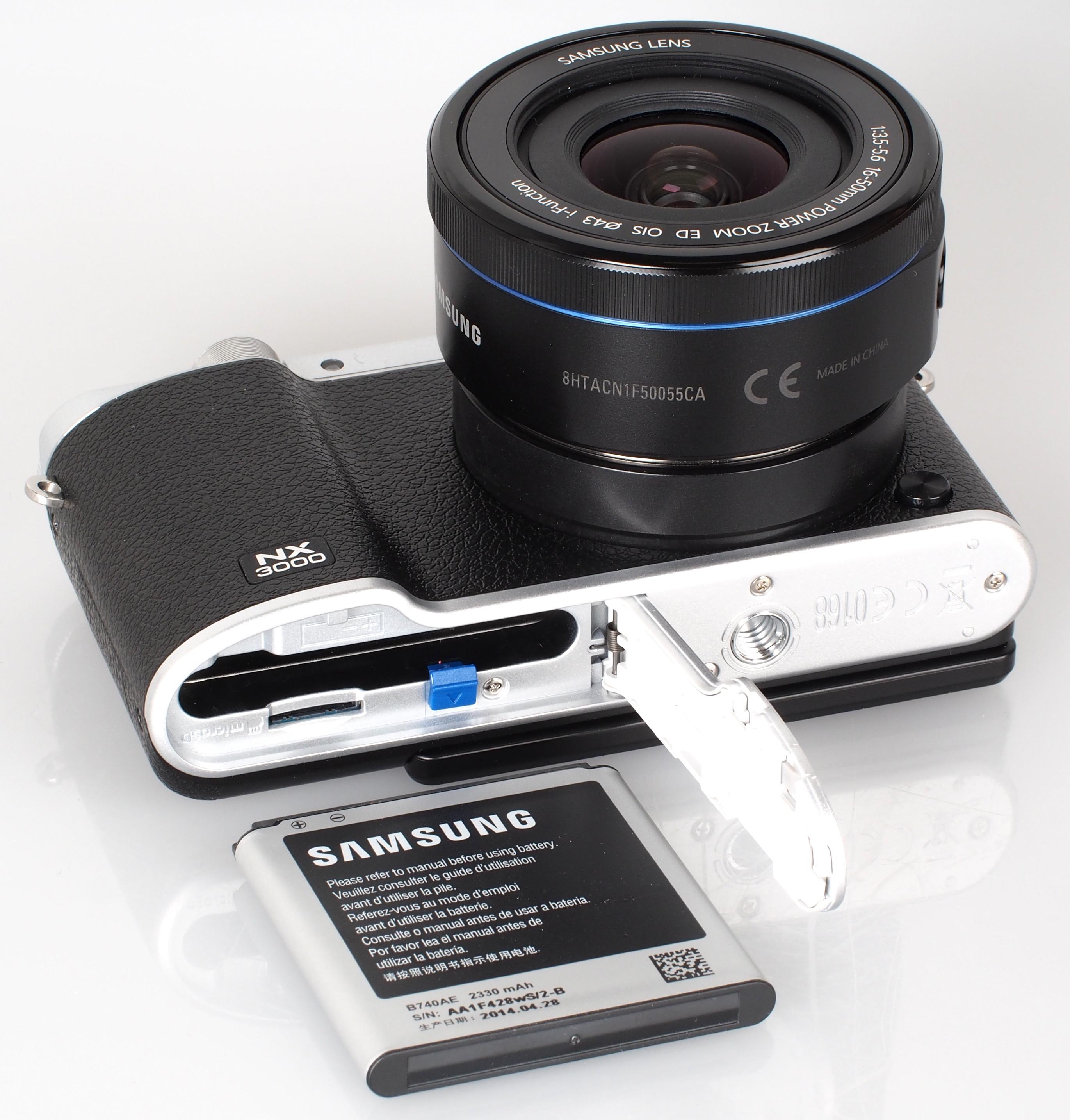 Samsung nx3000 mirrorless digital camera ev-nx3000boius b&h.