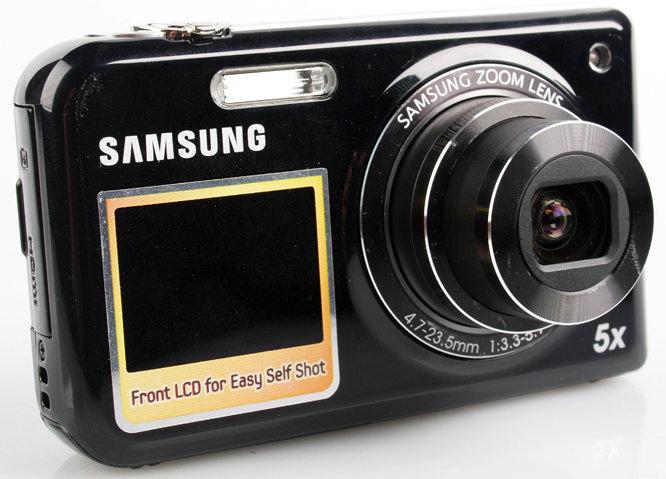 Samsung PL170 front lens