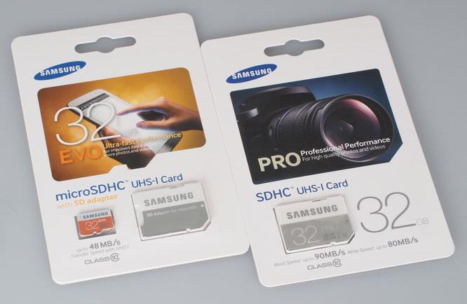 Samsung 32GB EVO Micro SDHC Card