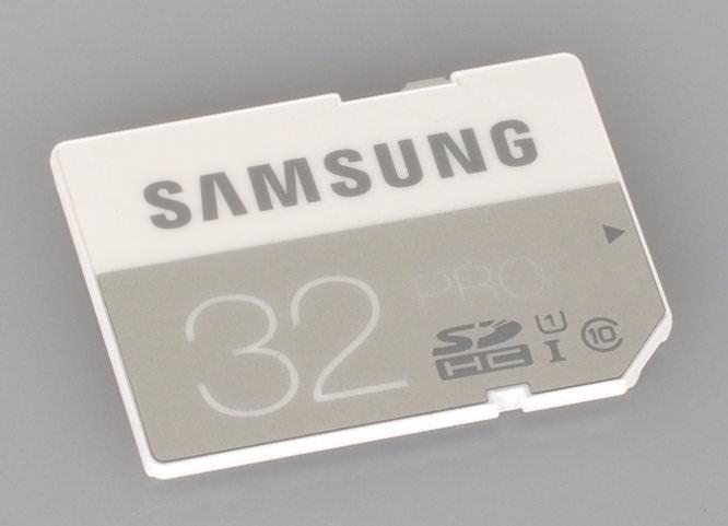 32GB PRO SDHC UHS-I Card