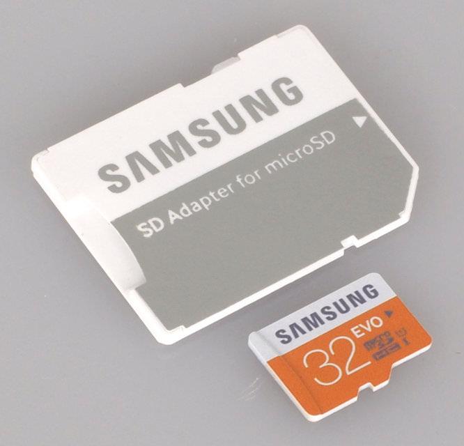 32GB EVO MicroSDHC UHS-I Card