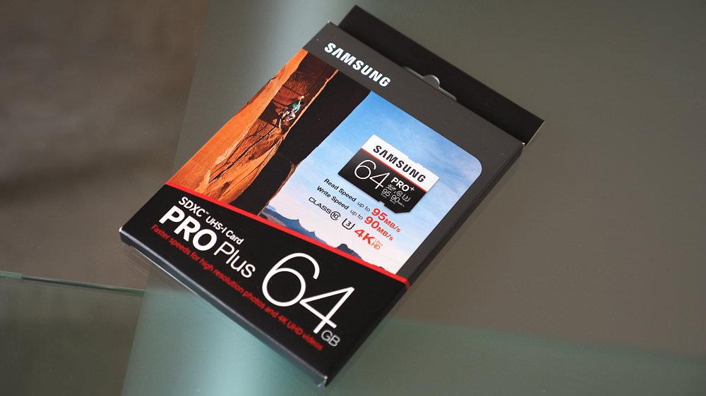 64GB PRO+ SDXC UHS-I Card