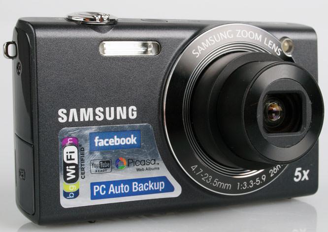 Samsung SH100 front lens