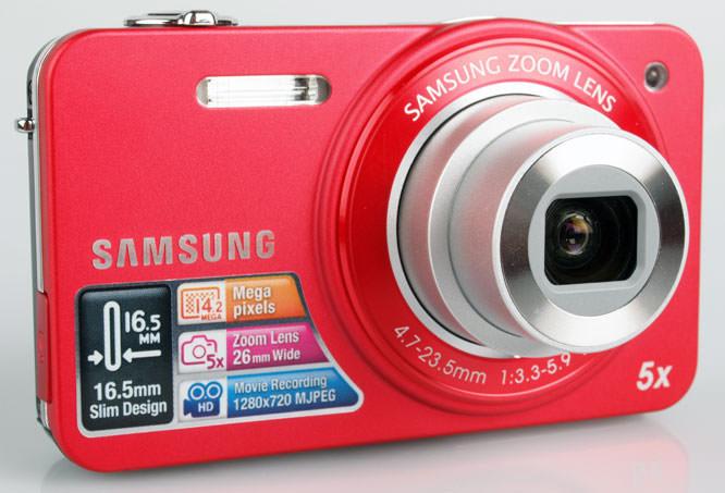 Samsung ST90 front lens
