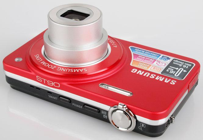 Samsung ST90 top