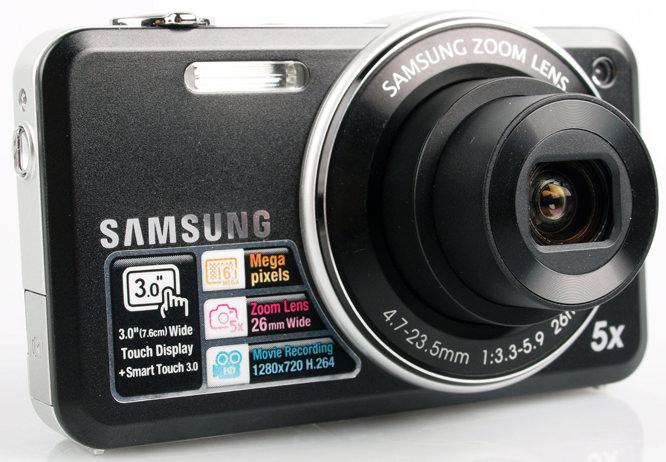 Samsung ST95 front lens