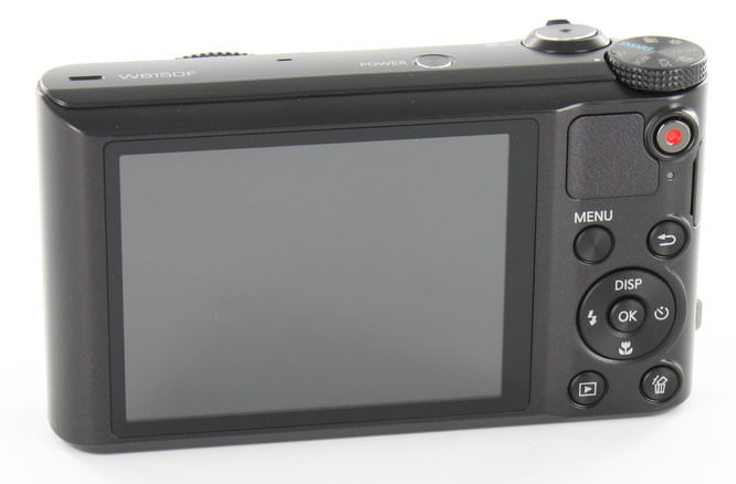 Samsung WB150F Back