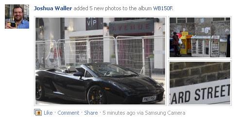 Samsung Facebook Upload