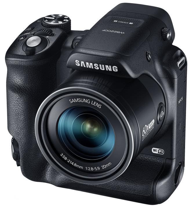 Samsung WB2200F 003 Right Angle Black 1