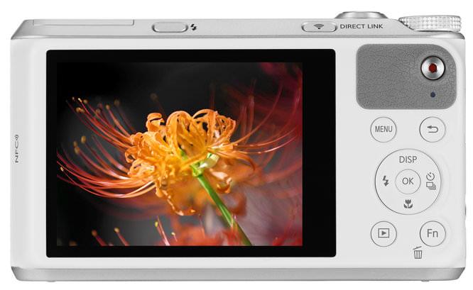Samsung WB350F 002 Back White