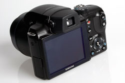 Samsung WB5000 rear view
