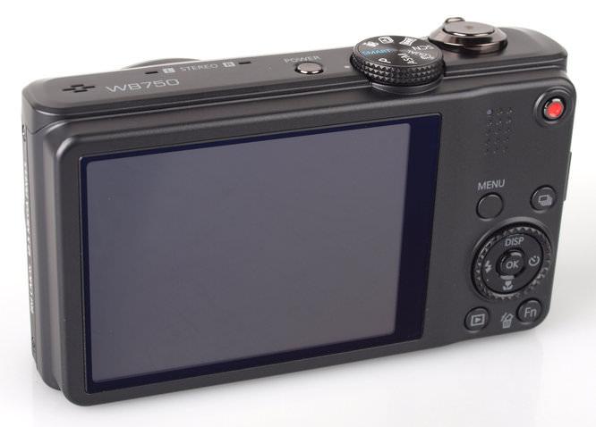 Samsung WB750 Back