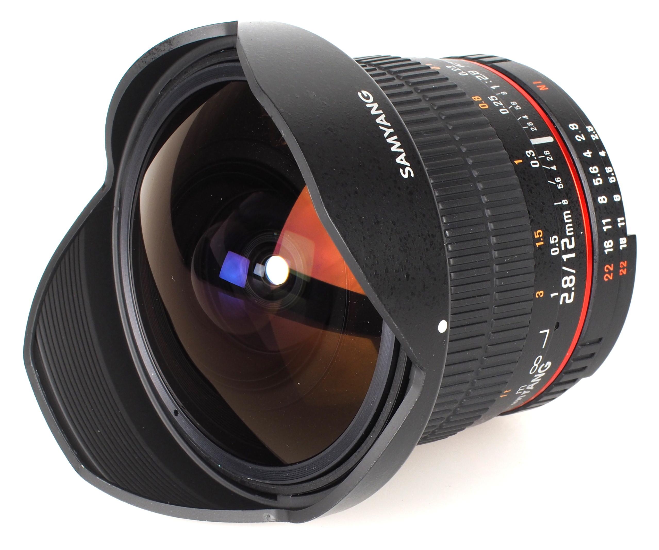 Samyang 12mm f 2 8 ed as ncs fish eye lens review for Fish eye camera