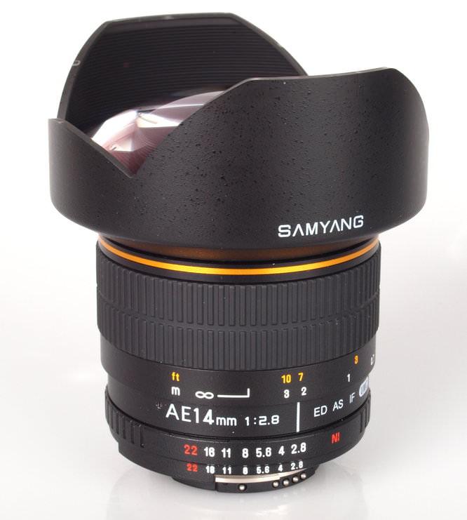 Samyang Ae 14mm