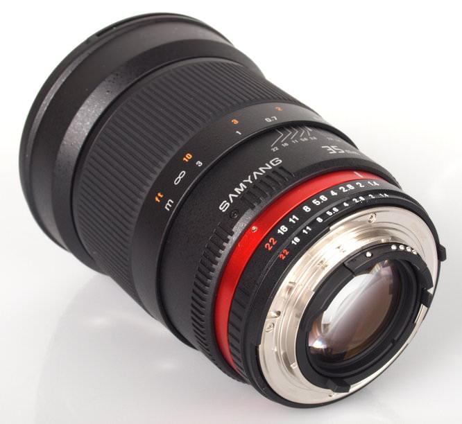Samyang 35mm Lens