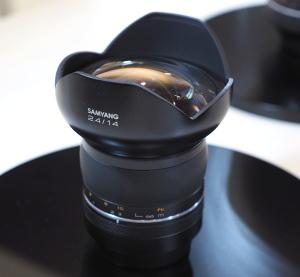 Samyang 85mm f/1.2 14mm f/2.4 Premium Lenses