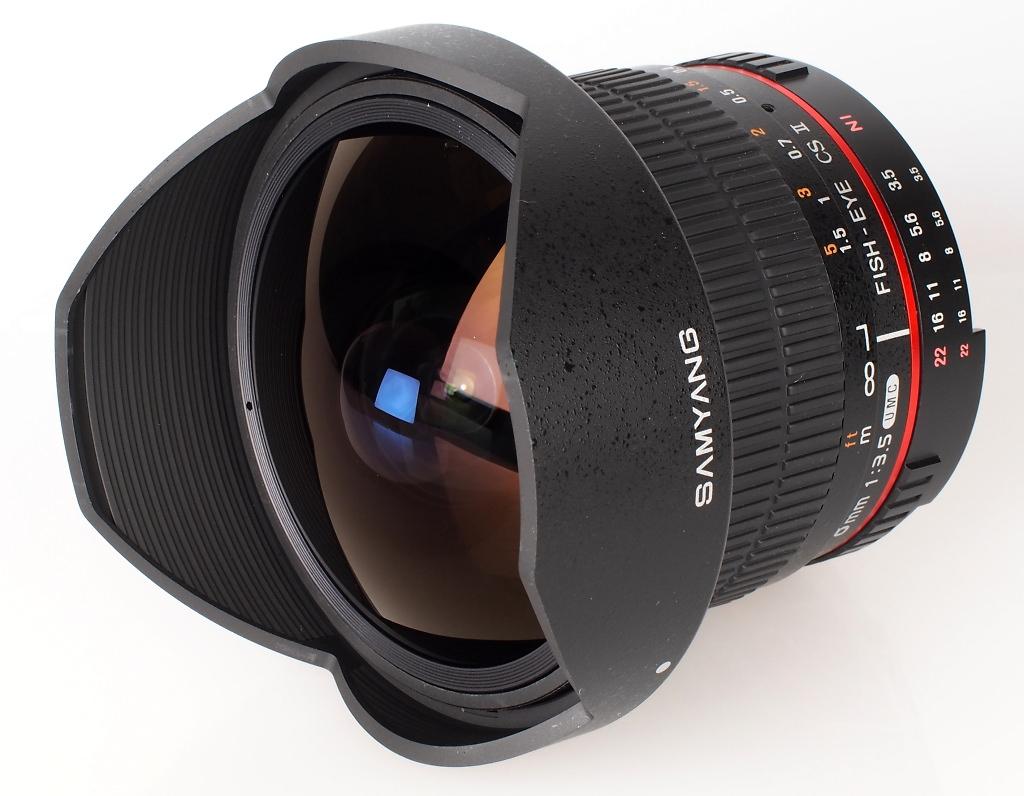 Samyang 8mm f/3.5 UMC Fish-eye CS II Lens Review