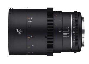 Samyang Adds 135mm T2.2 To Its VDSLR MK2 Cine Lens Line-Up