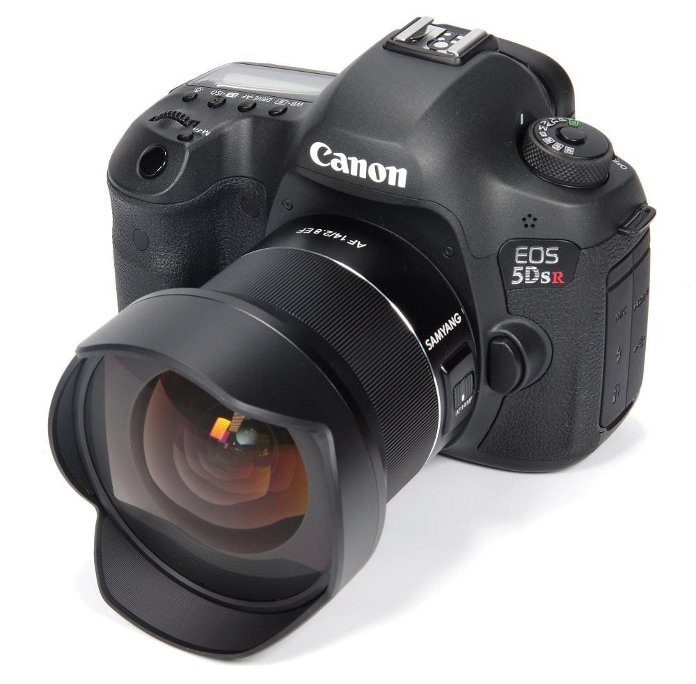 Samyang  Af 14mm F2,8 Ef On Canon 5dsr