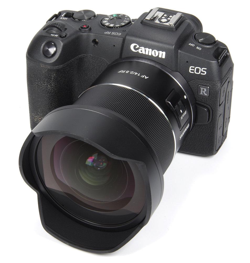 Samyang Af 14mm F2,8RF On Canon RP