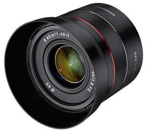 Samyang AF 45mm f/1.8 FE Lightweight Lens Announced