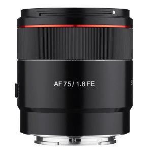 Samyang AF 75mm f/1.8 FE Lens Announced