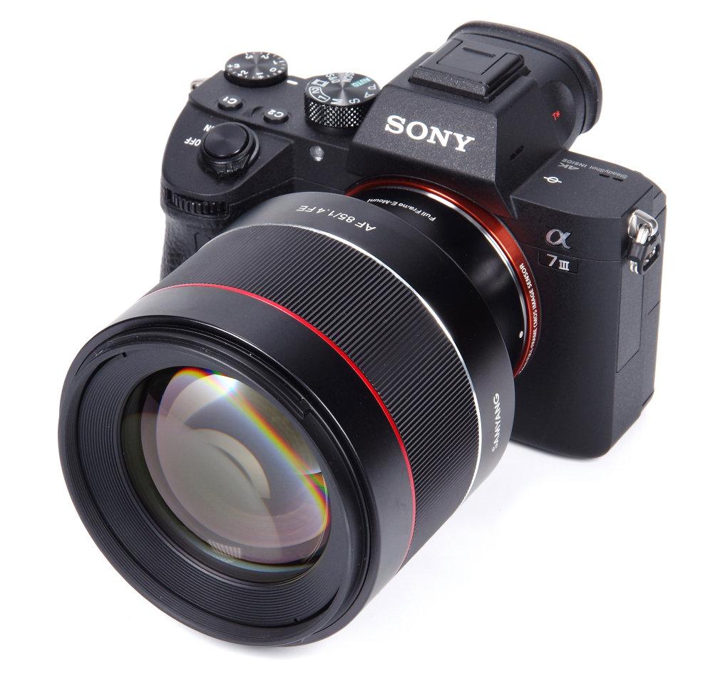 Samyang Af 85mm F1,4 On Sony A7III
