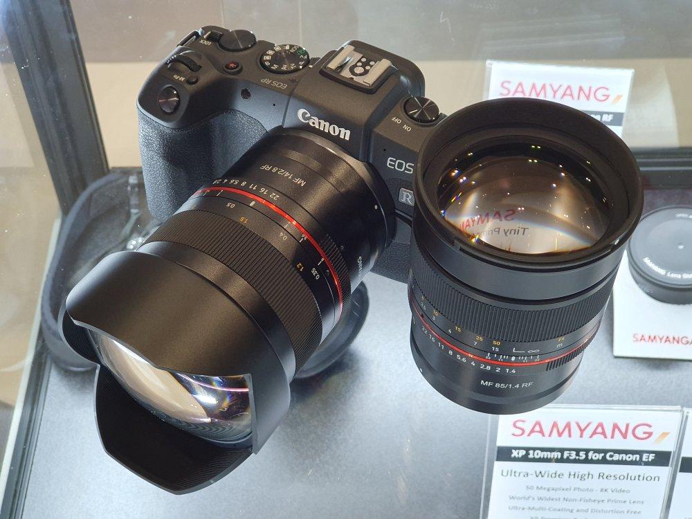 Samyang MF 14mm 85mm RF EOS RP (3)