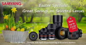 Samyang Announces 'Easter Instant Savings' Promotion