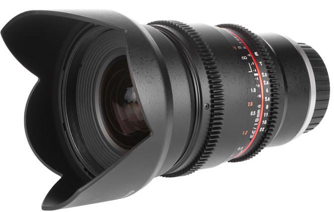 Samyang 16mm cine lens