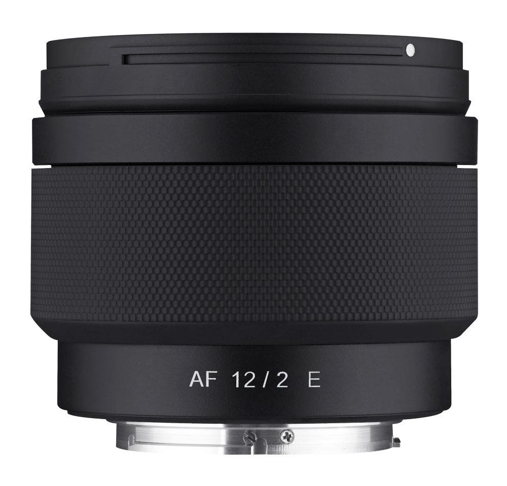 Samyang AF 12mm F2 E Side No Hood