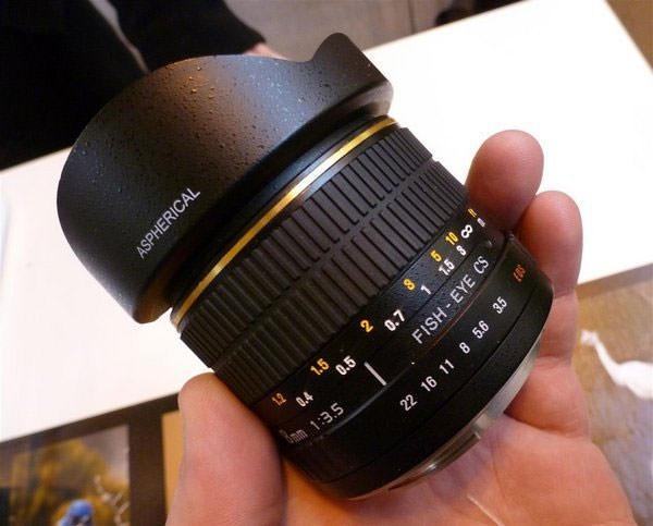 8mm Samyang lens