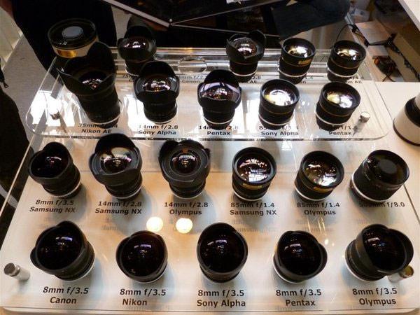 Samyang lenses at Focus