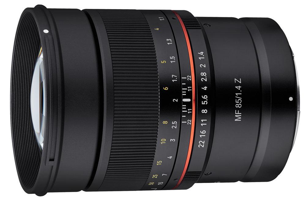 MF 85mm f/1.4 Z