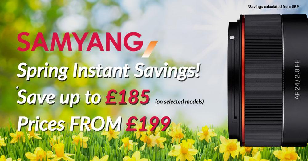Samyang spring savingsd