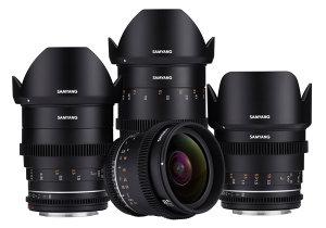 Samyang VDSLR MK2 Lens Range Announced